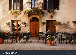 retro romantic restaurant cafe small italian stock photo 330836153