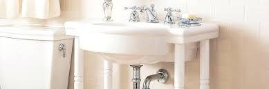 american standard retrospect washstand with bathroom sink set