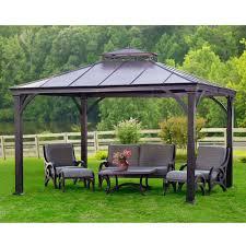 metal patio gazebo outdoor metal gazebo home depot gazebos fonky