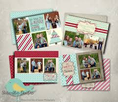 christmas card templates psd holiday cards mint collection