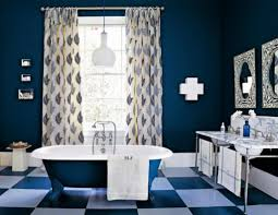navy blue bathroom ideas decorating navy blue bathroom e1455710892861 beautiful blue