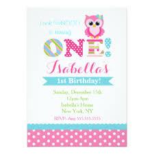 owl birthday invitations u0026 announcements zazzle
