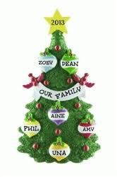 personalised ornaments tree 6 personalised