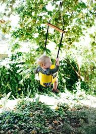 childrens tree swing unique swing ideas on burlap baby swings