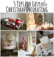 making it in the mitten 5 tips for easy christmas decorating