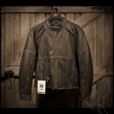 perforated leather motorcycle jacket river road rambler leather jacket mens leather vintage