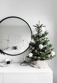 christmas in the bedroom mini christmas tree christmas tree and