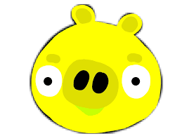yellow pig angry birds fanon wiki fandom powered wikia