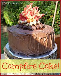 how to make a campfire birthday cake