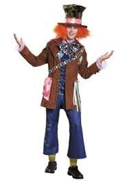Mad Hatter Halloween Costume Mad Hatter Costumes Alice Wonderland Madhatter Halloween Costume