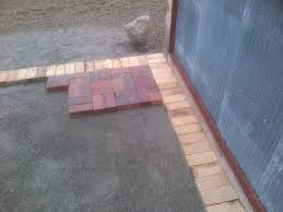 terrace traditional patio brick patterns ideas for your outdoor