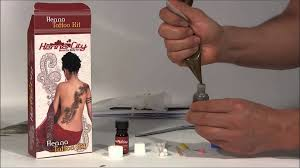 mehndi henna tattoo kit tutorial youtube