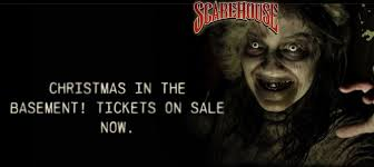 The Basement Scarehouse by Behind The Thrills Holiday Fear Haunted Attractions Open For
