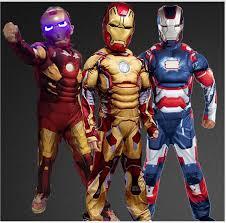 iron man 3 patriot muscle child superhero halloween costume kids