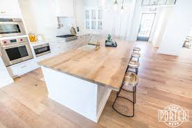 kitchen island top calle tuberia kitchen island porter barn wood