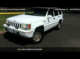 jeep grand 1995 limited 1995 jeep grand limited 4wd for sale in san diego ca