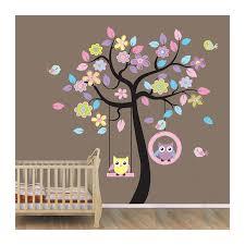 arbre déco chambre bébé stickers arbre bébé dispo sur stickers et deco com