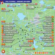 map usa orlando orlando golf map with top golf courses and best golf resorts