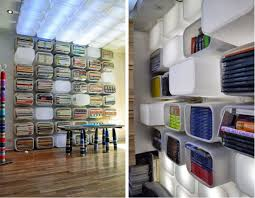 ikea hack office use ikea storage boxes to make this organization library in your