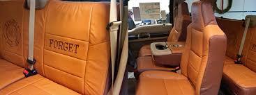 Brown Car Interior Custom Leather Interiors In Appleton Wi