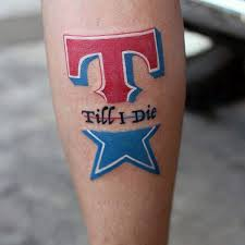 texas rangers tattoo tattoo collections