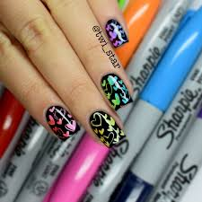 nail art with black sharpie image collections nail art designs