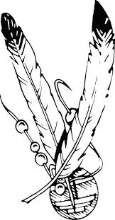 coloring pages of indian feathers indian feathers coloring page johnnyherbert info