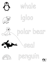 winter animals preschool worksheet winter animals preschool
