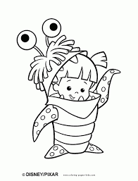 monsters inc coloring page monster inc family coloring pages