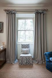 Blue Ticking Curtains Woven Ticking Linen Blue Inchyra Designs