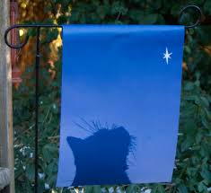 new holiday and winter garden flags the creative cat