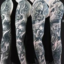 62 outstanding unique sleeve tattoos designs and ideas collection