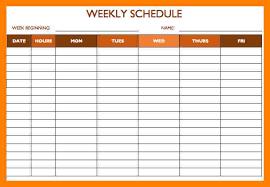 monthly schedule templatesemployee work schedule