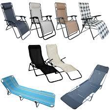 folding sun loungers ebay