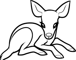Printable Deer Coloring Pages Fitfru Style Of Pictures We Are Coloring Pages To Print And Color