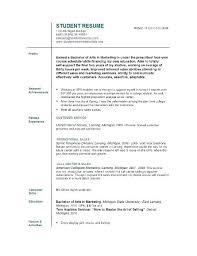 sample resume for working student sample graduate student resume