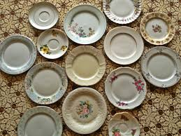mismatched plates wedding mismatched vintage wedding plates for sale happiness is