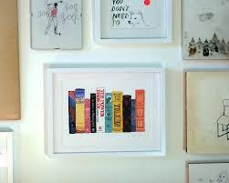 custom print u2013 ideal bookshelf