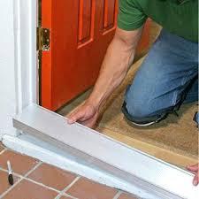Replacing An Exterior Door Threshold Front Door Thresholds Step By Front Door Repair Replacing A Sill