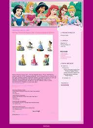 disney princess blogger template cartoon blogger template