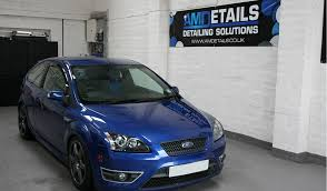 ford focus st modded blue ford focus st protection detail moray