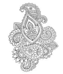 easy paisley coloring pages getcoloringpages com