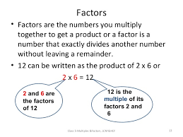 lesson plan multiple and factors ppt v 3