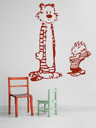 26 calvin and hobbes wall decals calvin and hobbes wall decal calvin hobbes cartoon wall decal home d cor by wallmantracom