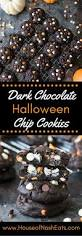 check out dark chocolate halloween chip cookies it u0027s so easy to