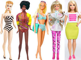 body types save barbie evolution