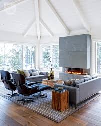 Interiors Home by House Tour Modern West Coast Cottage Modern Family Rooms