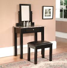 furniture white makeup vanity table modern looking home interior