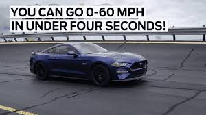 mustang v8 0 60 ford s 2018 mustang gt can do 0 to 60 mph in 4 seconds