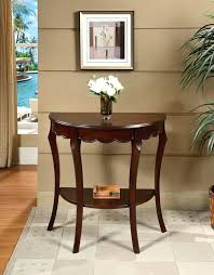 accent furniture tables cool accent tables furniture the half moon console table half moon